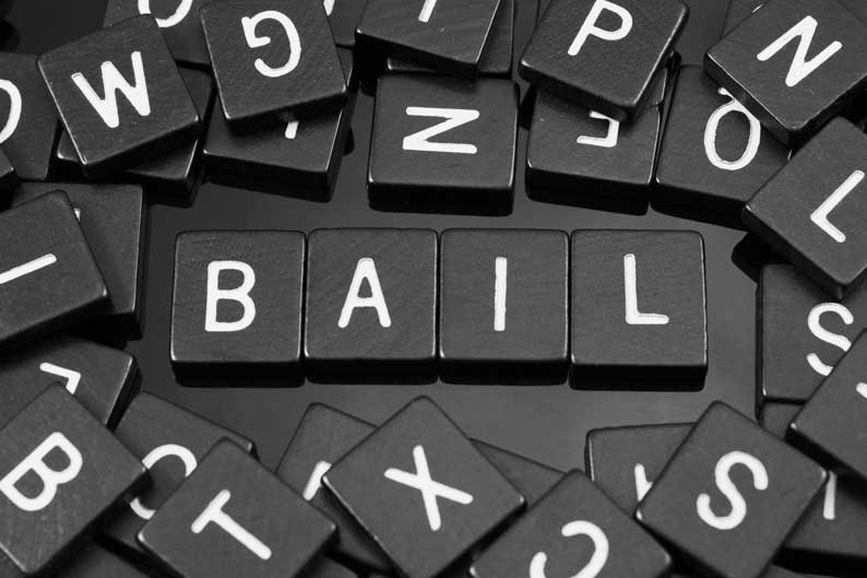 Bail Bond Pieces and Letters
